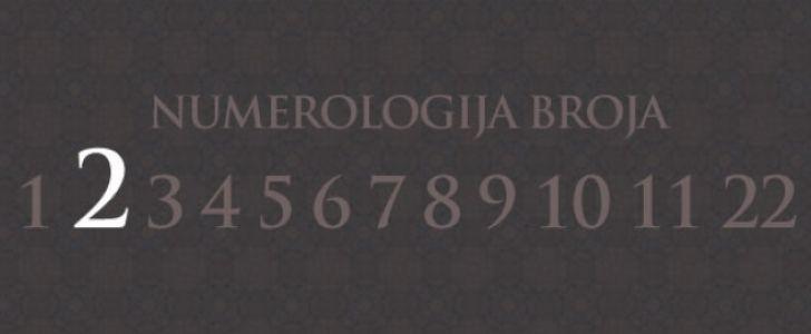Numerologija broj 2
