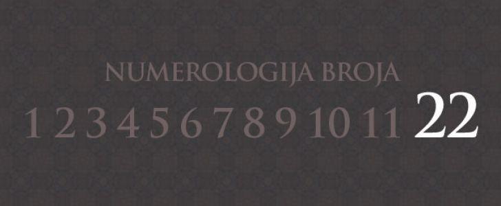 Numerologija broj 22