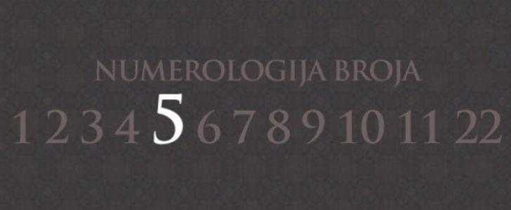 Numerologija broj 5
