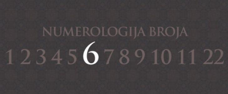 Numerologija broj 6