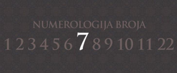 Numerologija broj 7